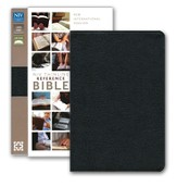 NIV Largeprint, Thinline, Reference Bible, Black (Black Letter)