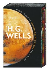Five Great Science Fiction Novels: H.G. Wells Boxed Set, 5 Volumes