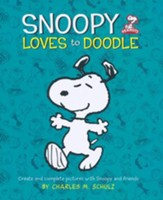 Snoopy Loves to Doodle Create and Complete pictures with Snoopy and Friends