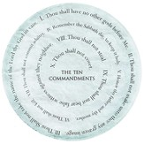 Ten Commandments Paperweight
