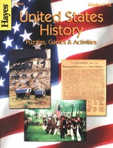 United States History Puzzles, Games & Activities