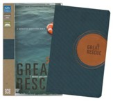 The Great Rescue (NIV): Discover Your Part in God's Plan: Revised Edition, Italian Duo-Tone, Dark Blue and Brown - Slightly Imperfect