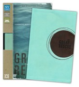 The Great Rescue (NIV): Discover Your Part in God's Plan: Revised Edition, Italian Duo-Tone, Light Blue and Brown - Slightly Imperfect