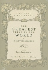 The Greatest Thing in the World - Audiobook on CD