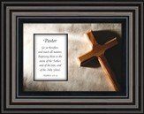 Pastor Framed Art, Matthew 28:19