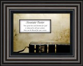 Associate Pastor Framed Art