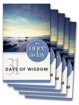 NIV Once-A-Day 31 Days of Wisdom - 20 Pack
