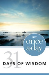 NIV Once-A-Day: 31 Days of Wisdom