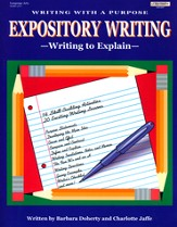 Expository Writing: Writing to Explain (4-7)