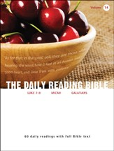 The Daily Reading Bible (Volume #14)