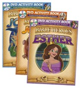Bible Heroes Activity Books: Jonah, Joshua, and Esther