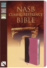 NASB Classic Reference Bible: Italian Duo-Tone, Word-for-Word Study of the Bible, Italian Duo-Tone,