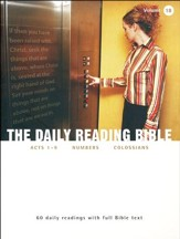 The Daily Reading Bible (Volume #18)