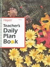 Teacher's Daily Plan Book