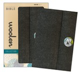 NIV Thinline Woolen Collection Bible, Hardcover, Woolen Gray