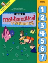 Mathematical Reasoning, Level D, Grade 3