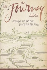 NIV The Journey Bible: Revealing God and How You Fit into His Plan, Black