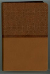 NIV ReadEasy Compact Bible--imitation leather, tan