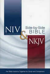 NIV and NKJV Side-by-Side Bible: Two Bible Versions Together for Study and Comparison - Slightly Imperfect