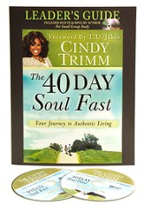 40 Day Soul Fast Leader's Guide Set: Book with DVD