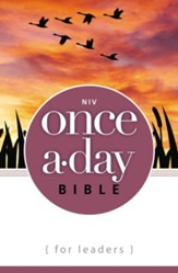 NIV Once-A-Day Bible for Leaders - Slightly Imperfect