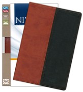 NIV and NKJV Side-by-Side Bible: Two Bible Versions Together for Study and Comparison, Italian Duo-Tone, Russet/Black - Imperfectly Imprinted Bibles
