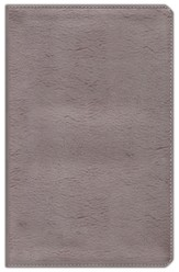NIV Thinline Metallic Collection Bible, Bonded Leather, Silver