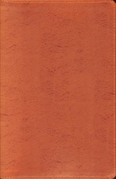 NIV Thinline Metallic Collection Bible, Bonded Leather, Copper