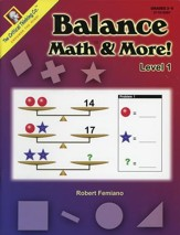 Balance Math & More! Level 1 Grades 2-5