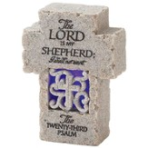 Psalm 23 Tabletop Cross