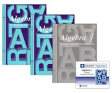 Saxon Algebra 1/2 Homeschool Kit & Saxon Teacher CD-ROM, 3rd Ed.
