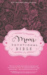 NIV Mom's Devotional Bible, Hardcover, Jacketed Printed - Imperfectly Imprinted Bibles