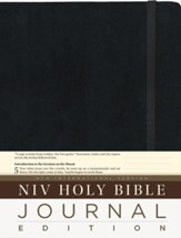 NIV Holy Bible, Journal Edition, Single Column, HC