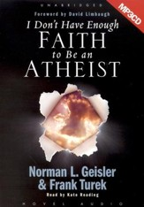 I Don't Have Enough Faith to Be An Atheist - Audiobook on MP3-CD