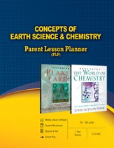 Concepts of Earth Science & Chemistry Parent Lesson Plan - eBook