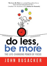 Do Less, Be More - eBook