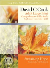 Bible-in-Life Adult Comprehensive Bible Study Large Print Student Book, Fall 2014