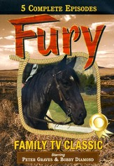 Fury, The Brave Stallion: Volumes 1 & 2, DVD Set