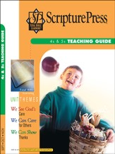 Scripture Press 4s & 5s Teaching Guide, Fall 2014