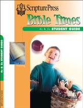Scripture Press 4s & 5s Bible Times Student Guide, Fall 2014