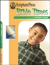 Scripture Press 4s & 5s Bible Times Student Guide, Fall 2015
