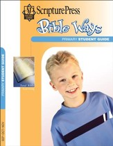 Scripture Press Primary Grades 1 & 2, Bible Ways Student Book, Fall 2016