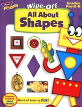 All About Shapes Wipe-Off Books