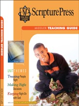 Scripture Press Middler Grades 3 & 4, Teaching Guide, Fall 2014