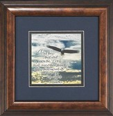 Soaring Eagle Mounted Print