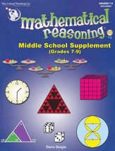 Mathematical Reasoning Middle School Supplement (Revised Edition)