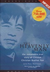 The Heavenly Man Unabridged Audiobook on MP3 CD