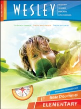 Wesley Elementary Bible Discoveries (Student Book), Fall 2015