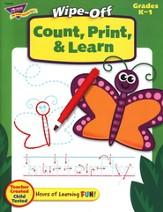 Count, Print, & Learn Wipe-Off Books