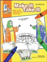 Bible-in-Life Preschool Make It Take It, Fall 2015